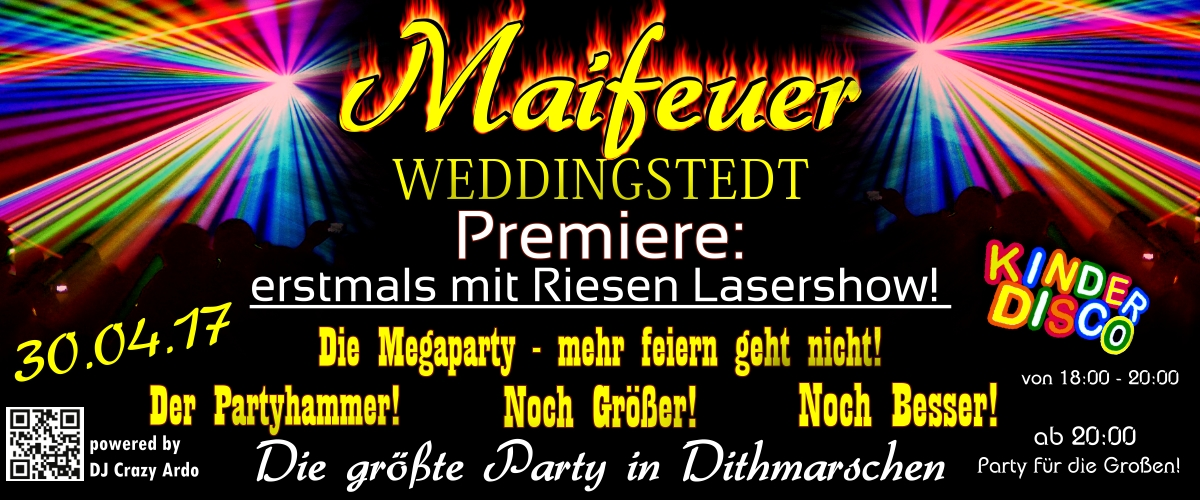 Maifeuer Weddingstedt